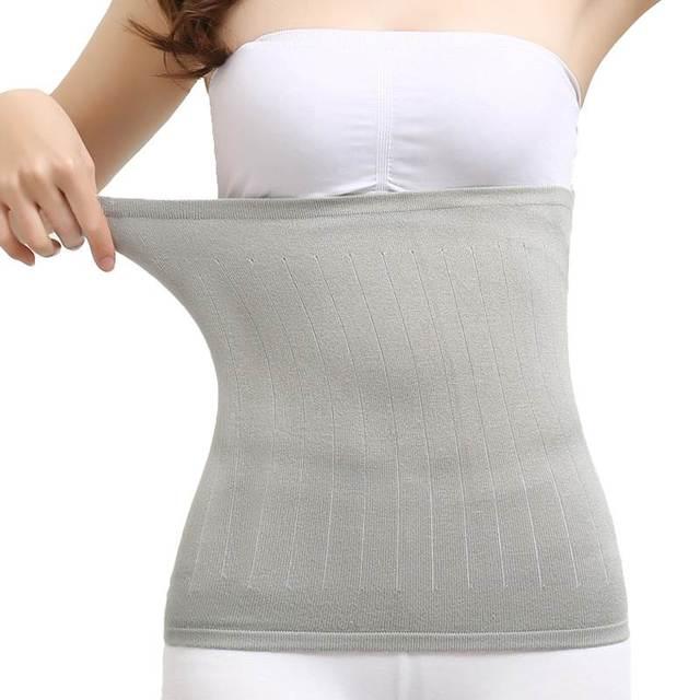 Cintura fina y cálida de verano caliente Palacio de algodón respirable, cintura, cintura, cintura de apoyo de apoyo de la banda gástrica estómago