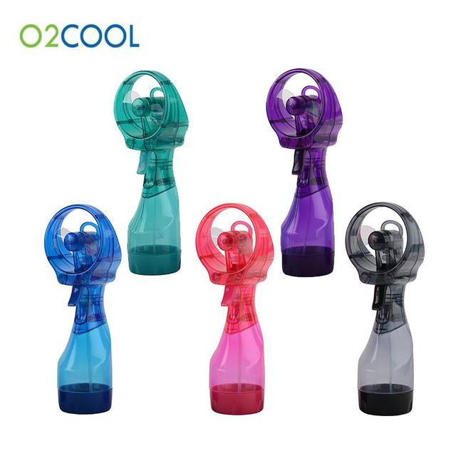 ミニ扇風機噴霧冷却装置がベッドの上に学生寮アウトドア小さい扇風機豪華版