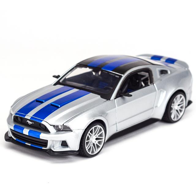 Meritor abbildung 1: 24 Ford Mustang Shelby statische simulation legierung - Modell, ein geschenk.