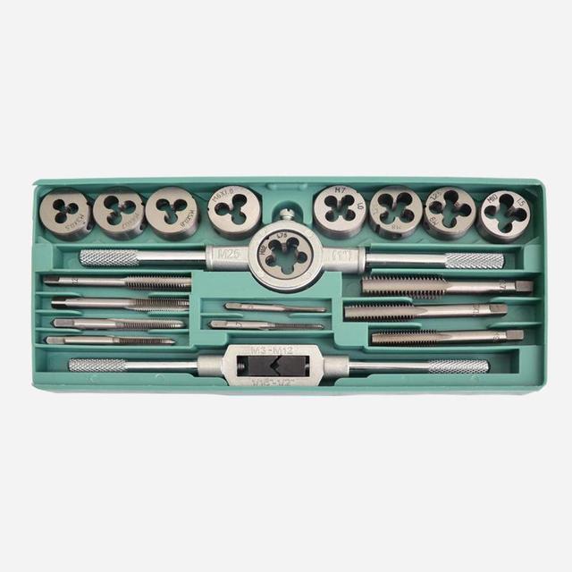 Hardware tools die metric screw metal braces set die set braces tap tap wrench