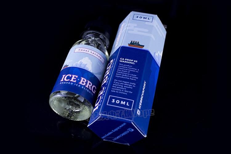 США IceBrg лед, импортируемые из серии электронная сигарета черный алмаз личи лед грейпфрут Чери