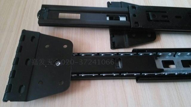 Sección III la pista plegable en forma de aumento de plato bisagra doblando la diapositiva vía dormitorio vestuario de corredera espejo del espejo