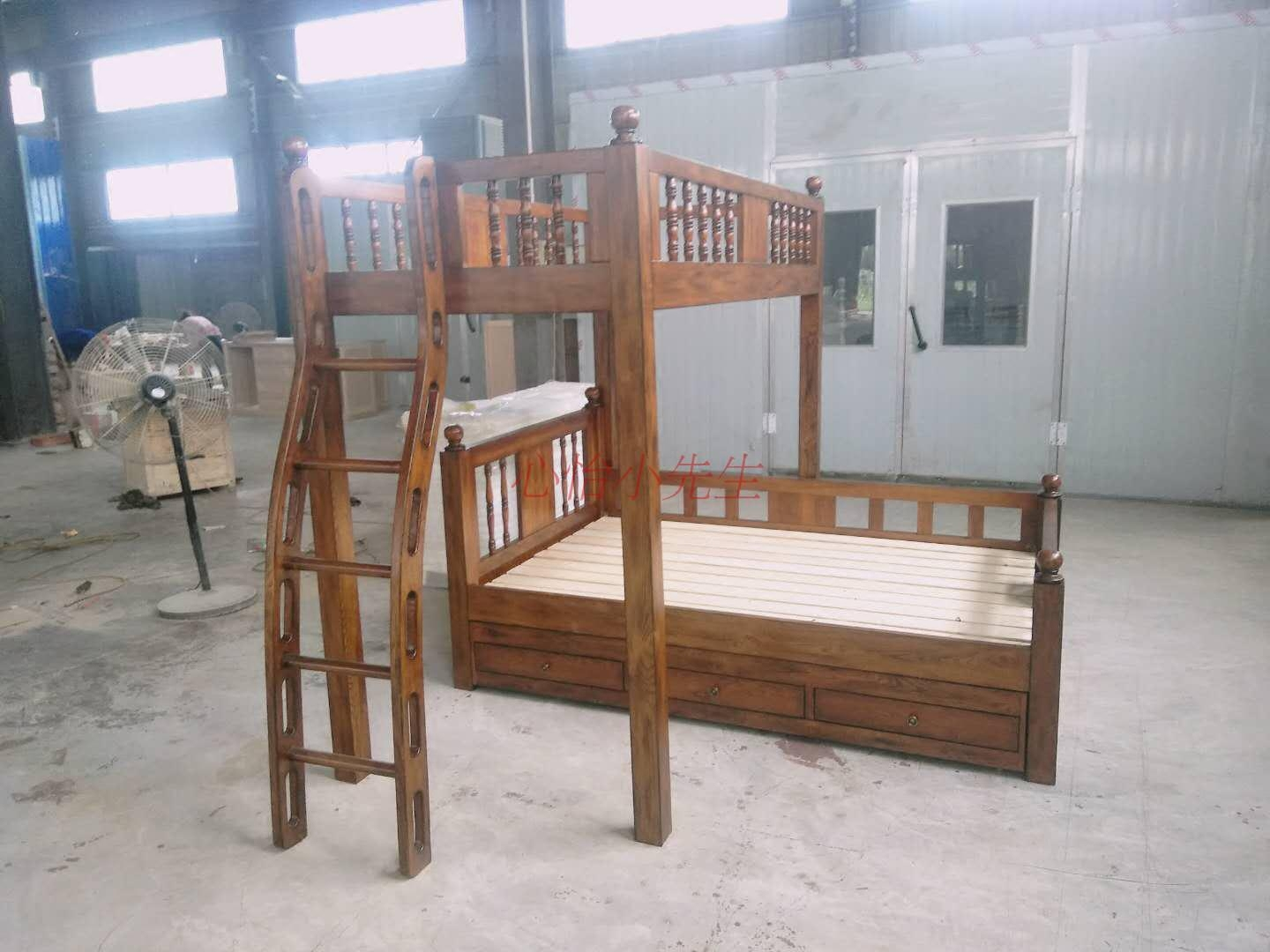 American beauty R grams of solid wood bedroom bunk bed double bed double bed bed adult child parent furniture