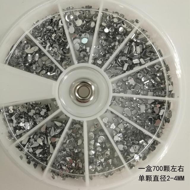 Diamond, diamond jewelry, manicure set, new nail kit, mail set, stereo shop tool, jewelry