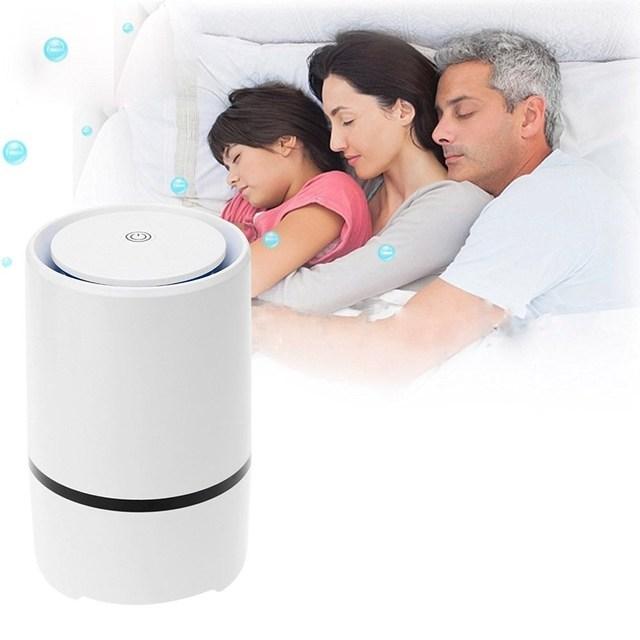 Escritorio USB purificadores de aire domésticos para eliminar iones negativos de formaldehído Oficina dormitorio evolver sin suministros de oxígeno