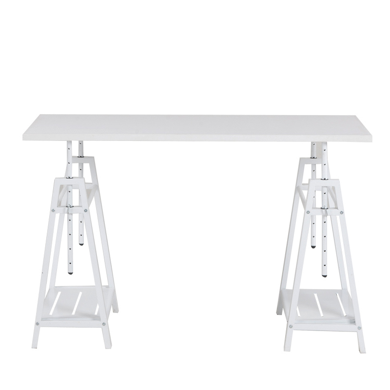 Children's adult desk bookshelf combination can rise and fall 65-100cm student writing desk study table set up 1.2 meters
