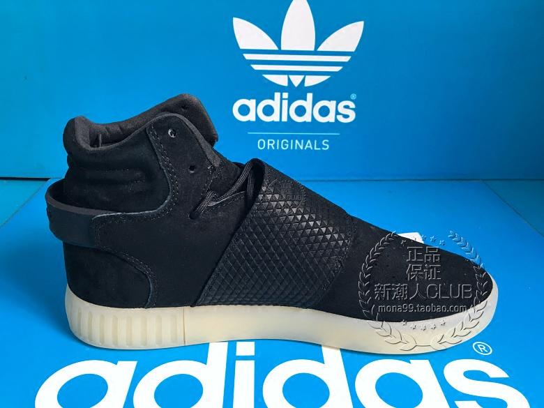 新潮人虎撲規格品AdidasTubularInvaderStrapジェーン版ココナッツBB5037
