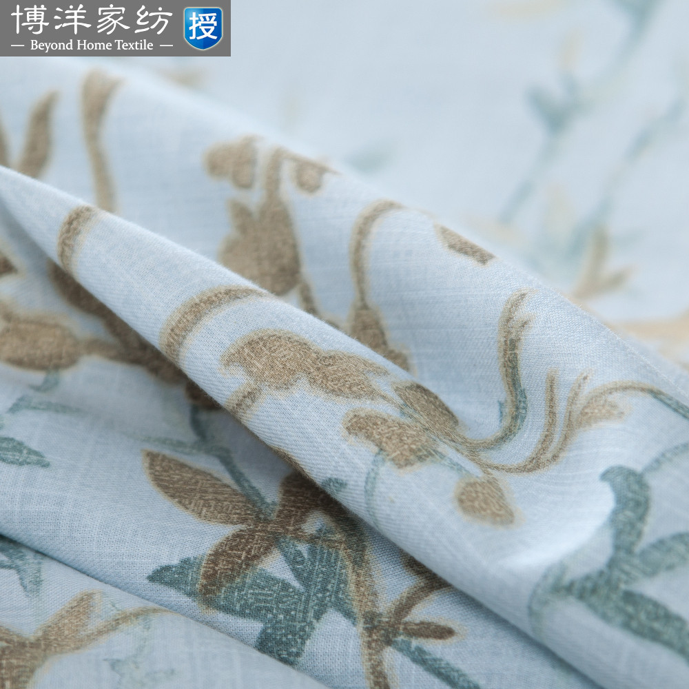 Bo Yang textile bedding Tencel linen four piece - 2016 new spring shipping