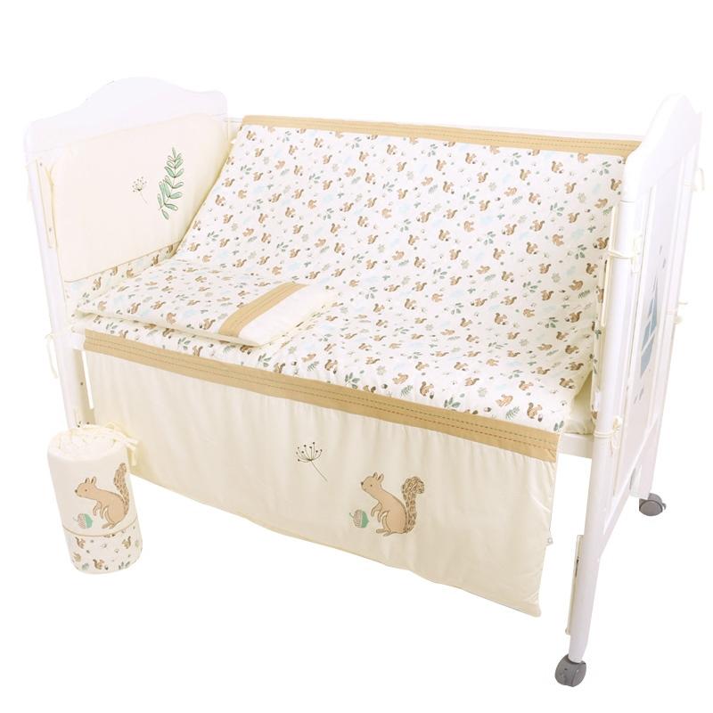 gb良い子の赤ちゃん寝具セットベビーベッド品ベッド赤ちゃんを枕掛け布団綿九点セット