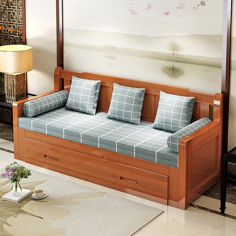 木造ソファベッド折りたたみ式小型多機能の1 . 2メートル書房保存両用リビング1 . 8ペア1 . 5
