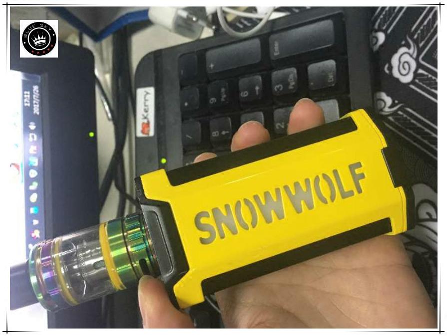 оригинальные электронная сигарета один хост костюм snowwolf снег волк Vfeng электронных растяжение смог бросить курить, устройство
