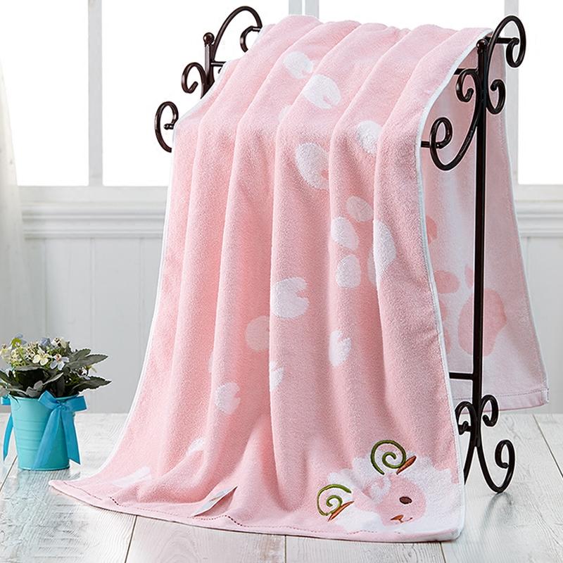 Cotton towel bra adult men and women increase cartoon super absorbent soft swimming bath towel thick winter children