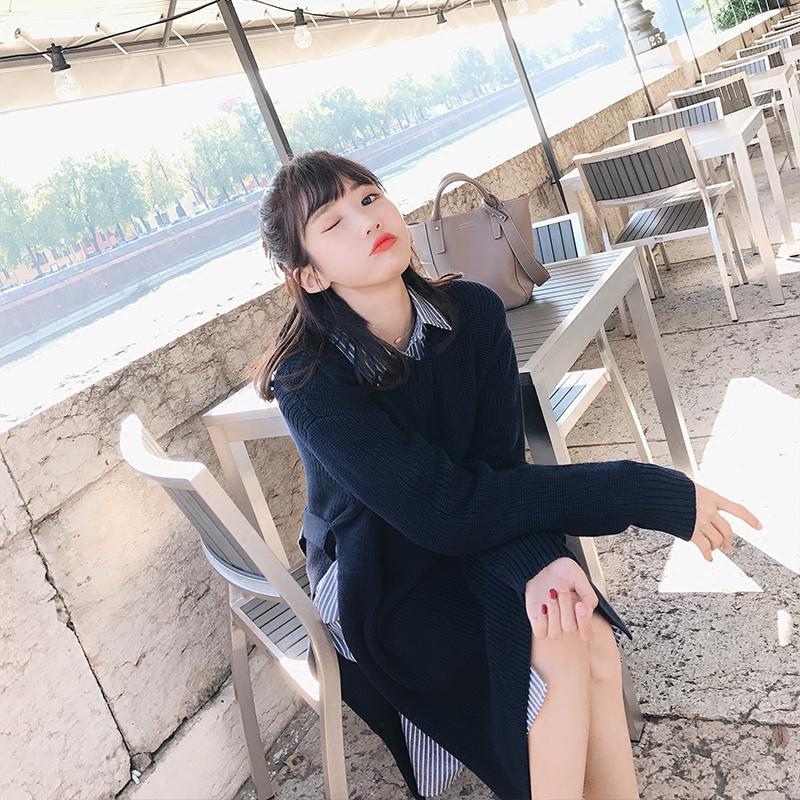 a nagy házban 针织衫 2017. BIGKING bő egy női 韩版 bolyhosképű hosszú) során.