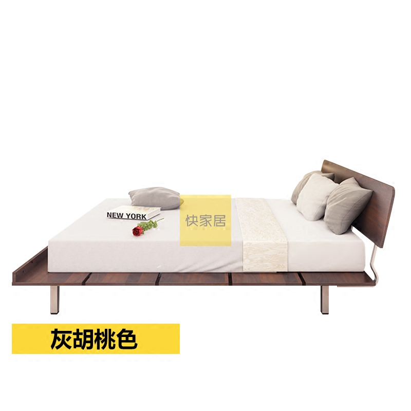 Fast Home Furnishing simple modern Nordic double tatami 1.2m, 1.5m, 1.8m