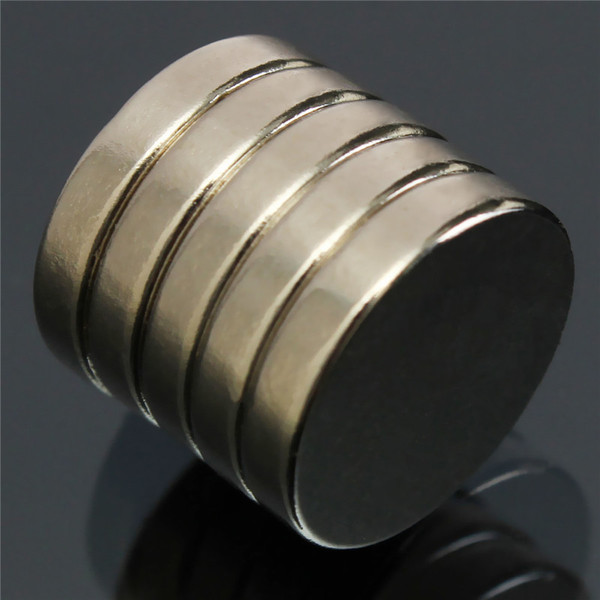 20pcs 15 x 3mm Strong Disc Round Cylinder MagnetS Rare Earth
