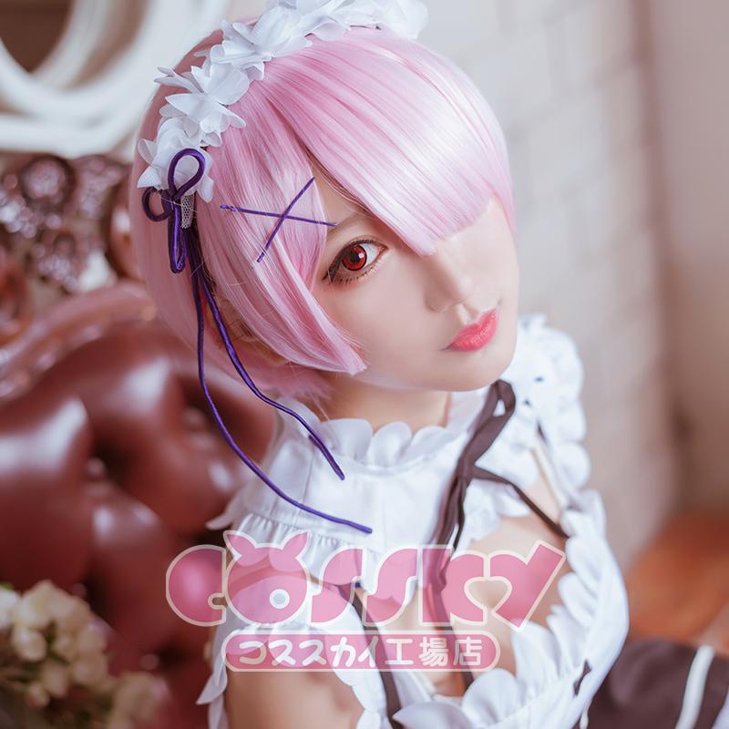 从零开始的异世界生活cos 拉姆cos服 女仆cosplay服装