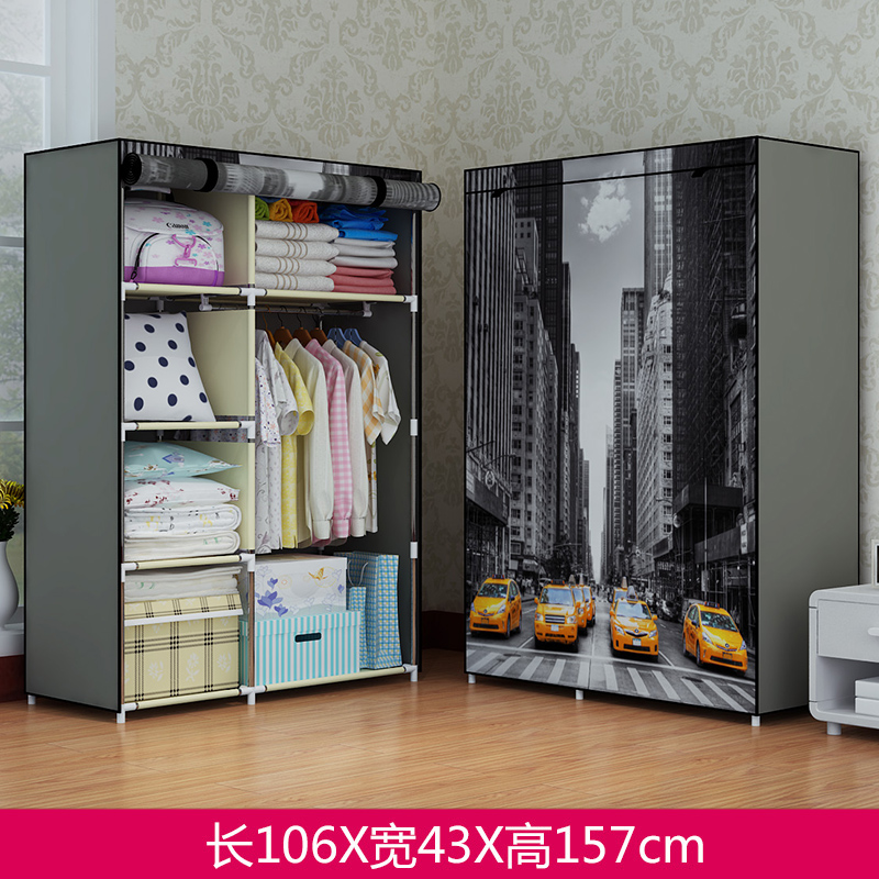 home to than the dust simple cloth wardrobe steel pipe bold