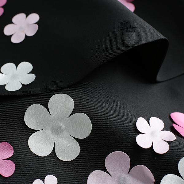 黑色花朵晚宴年会婚礼演出夜店短款婚纱小礼服连衣裙3208
