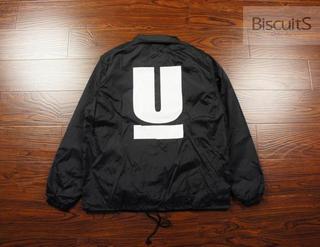 上海現貨 UNDERCOVER COACH JACKET 大U 教練夾克 2015AW 黑色