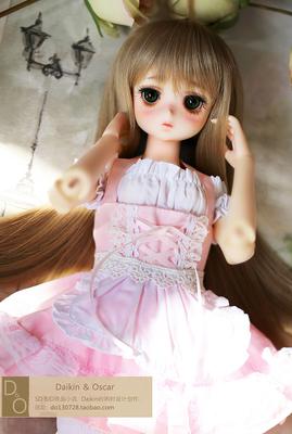 taobao agent DO spot bjd3 points doll hair msd light mature soft sister breath natural straight broken long hair