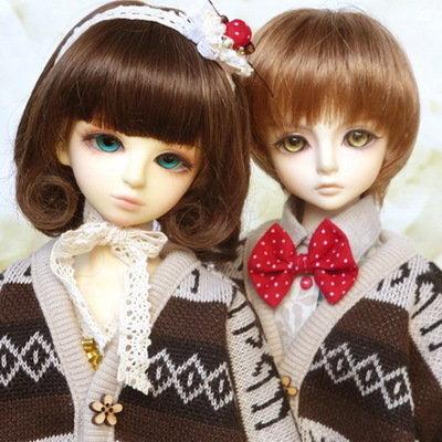 taobao agent bjd 1/4 Giant Baby 11 Christmas Forest Set-Retro Elk~(Can be sold)