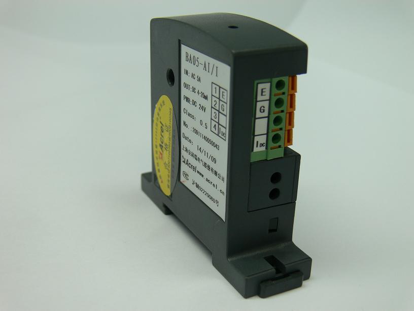 安科瑞直销 BA-05-AI/I-T直接式电流传感器 电流传感器变送器