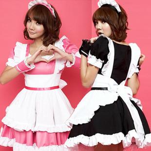 Love cute maid costume cosplay costume princess costume uniform temptation stage costume performance ds nightclub overalls