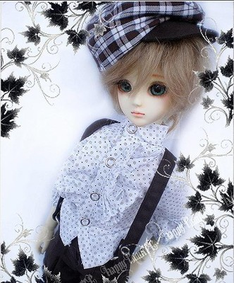 taobao agent BJD/SD 4 points 3 points doll clothes/baby clothes British college style three-piece suit 1/3, 1/4