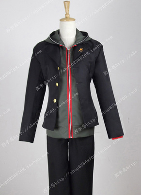 taobao agent In-kind shooting, bullets, super-university-level lucky, Makoto Naeki, suit, sweater, cosplay costume