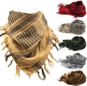 Arabian khăn vuông windproof cát cotton chiến thuật khăn chiếc khăn lớn quảng ngoài trời lực lượng đặc biệt ấm khăn
