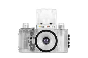 Tự làm hội phim SLR Lomo sáng tạo retro máy ảnh Konstruktor Builder minh bạch phiên bản giới hạn