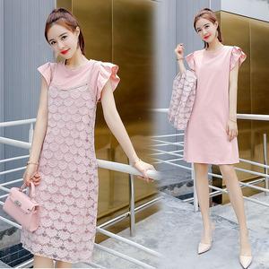 2018年夏季修身显瘦百搭气质流行优雅舒适两件套装裙YCY7772P115