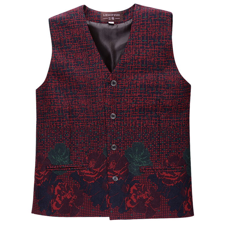 Phụ nữ trung niên của mẹ áo mùa xuân và mùa thu mỏng vest clip của phụ nữ kích thước lớn không tay vest ngắn ladies vest