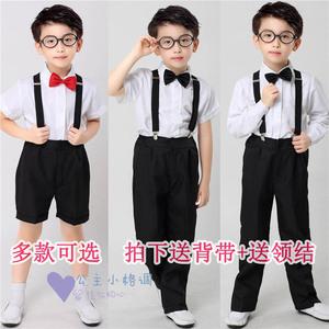Liuyi hoa cô gái ăn mặc cậu bé máy chủ nhỏ phù hợp với đám cưới điệp khúc phù hợp với cậu bé trẻ em trang phục bib