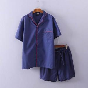 Mùa hè ngắn tay quần short nam thường kích thước lớn lỏng mỏng phù hợp với kỳ nghỉ thoải mái T-Shirt + năm quần phù hợp với