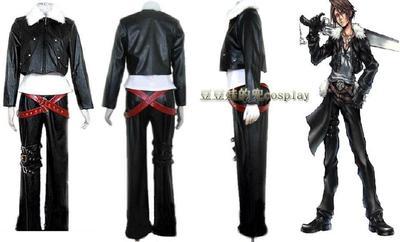 taobao agent Cosplay anime game final fantasy 8 Skaur Lyon Hart cos clothing free shipping customization
