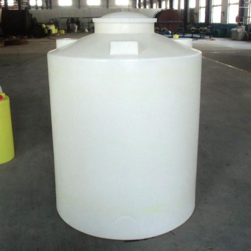 Bình nhựa nhựa thông Đông Thắng PE 1500L lít đáy phẳng trắng nước bể chứa nước thùng rượu thùng - Thiết bị nước / Bình chứa nước