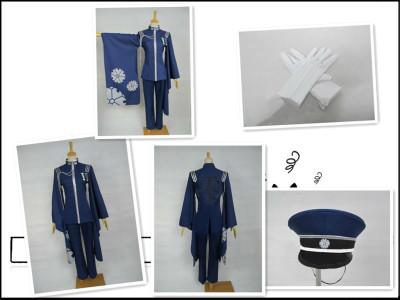 taobao agent Cosplay animation game Vocaloid Hatsune Big Brother KAITO Senbonzakura cos clothes free shipping custom-made;