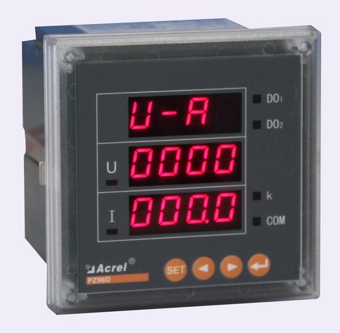 安科瑞厂家直销PZ72-DP、PZ80-DP、PZ96-DP 直流功率电能表 数显