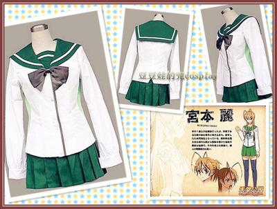 taobao agent Cosplay anime academy implied record Miyamoto Reitoshima 冴子高城萨耶 female school uniform free shipping customization