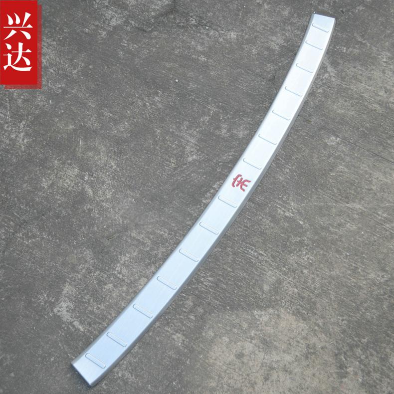 16-18 BYD Song tấm bảo vệ phía sau bằng thép không gỉ đặc biệt để thay đổi trang trí màu xanh lá cây Wo mới bàn đạp xe cung cấp - Truy cập ô tô bên ngoài