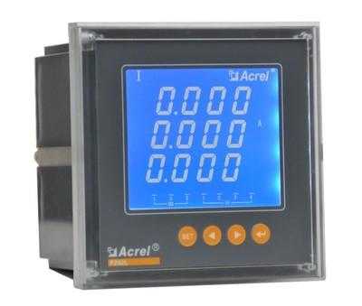 安科瑞厂家PZ96L-AV3/KC 三相电压表 液晶显示 开关量 RS485通讯