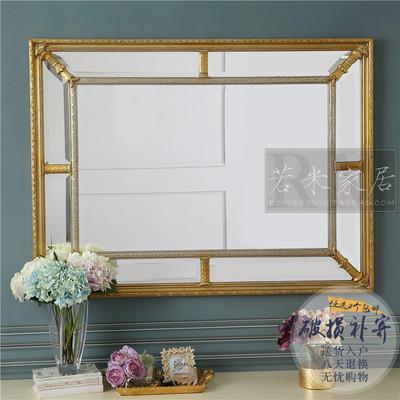 86*61/124*92横竖金银色装饰镜餐厅挂镜壁炉镜卫浴
