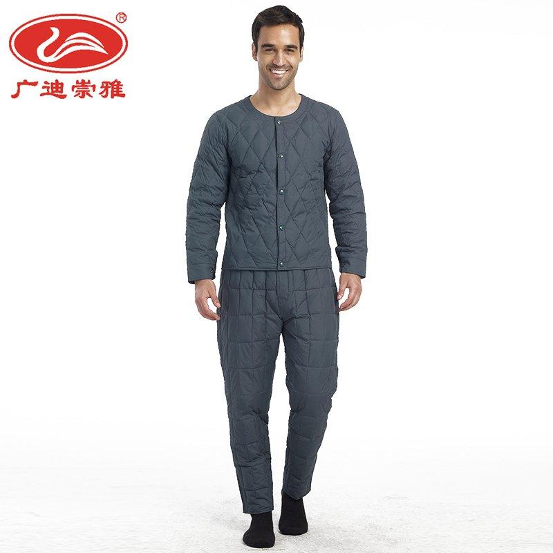 048 Guangdi Chongya nam xuống quần quần nam ấm quần nhà dịch vụ quần đồ lót nhiệt