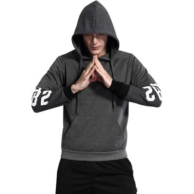 Curry James đội mũ trùm đầu áo len nam ngắn tay bóng rổ Owen không tay vest khâu đào tạo phù hợp với bông mỏng Áo len