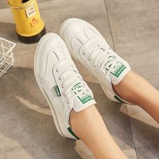 2018新款女鞋发运动休闲鞋韩版低帮平底学生小白鞋轻便鞋旅游鞋