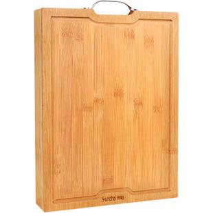 【双枪】楠竹制厨房用具家庭砧板