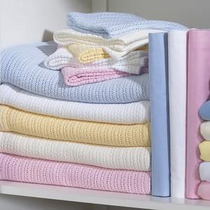 Tiếp thị trực tiếp chăn bộ đồ giường khăn chăn chăn cotton xuất khẩu giải trí chăn lỗ thấm cotton thoáng khí