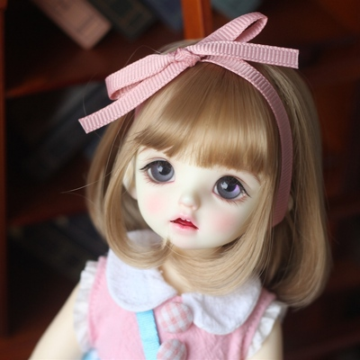 taobao agent 【Kaka Planet】bjd wig 3 points 4 points 6 points fake hair sister head pear flower head