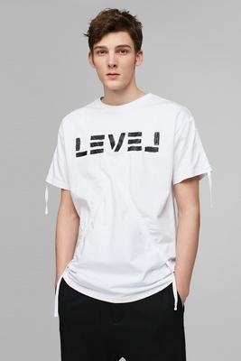CHỌN Slade cotton in nam lỏng lẻo ngắn tay T-shirt G | 417101515 áo polo lacoste Áo phông ngắn
